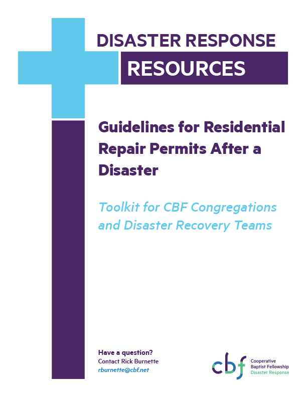 Microsoft Word - Guidelines for Repair Permits After a Disaster